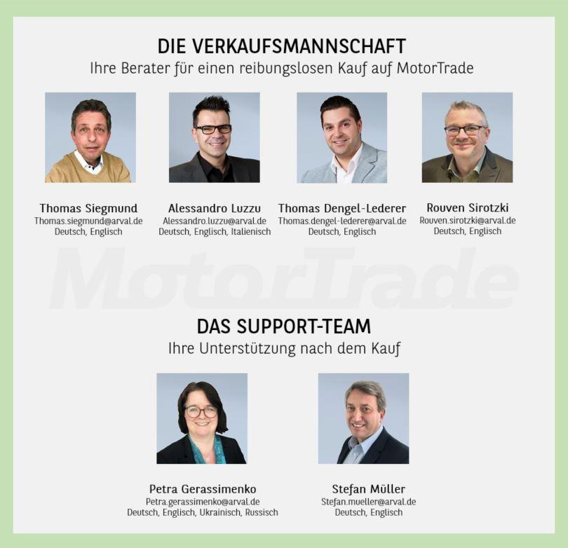 Arval MotorTrade Team Kontakt